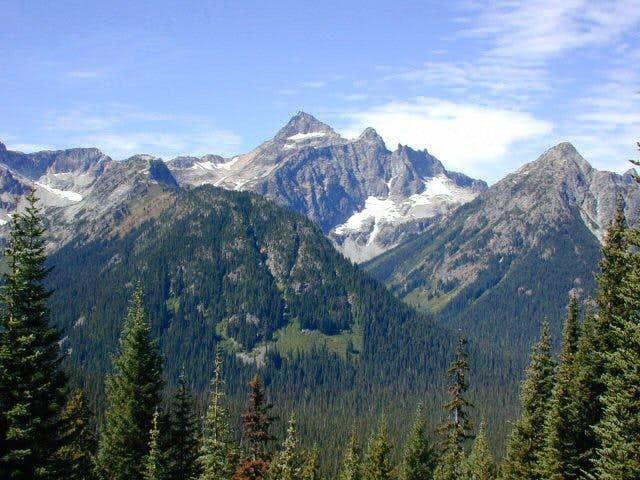 Black Peak from the east....