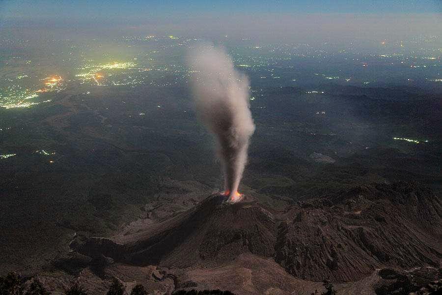 Volcan Santiaguito - Guatemala