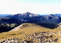 Windy Peak from the north....