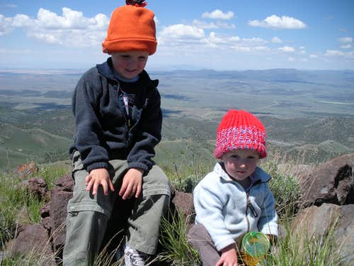Kids on Tintic Mountain