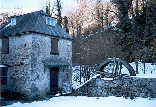 The Bareilles watermill