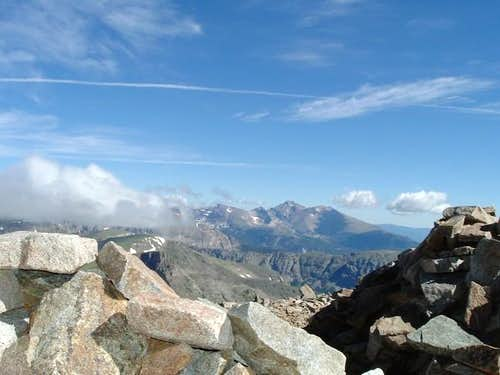 Long\'s Peak from Mt Audubon...