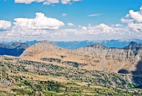 High Park Peak, Three Summit Peak