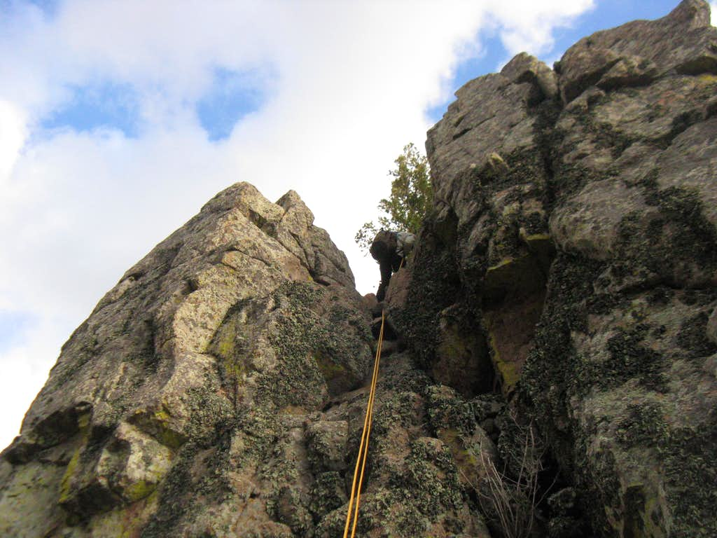 Last Rappel on the Ridge