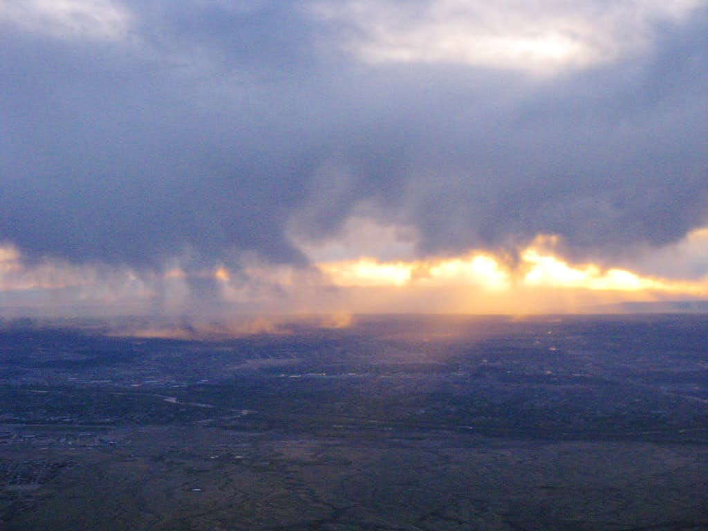 Early Evening Cloudbursts