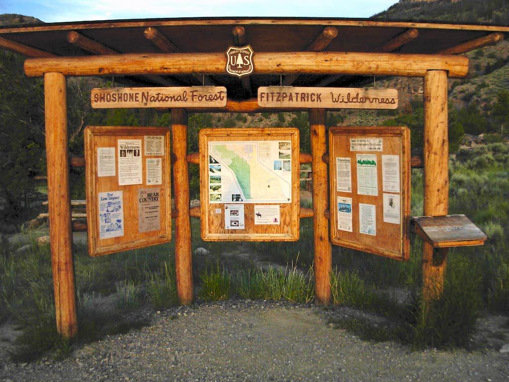 Glacier Trailhead Kiosk