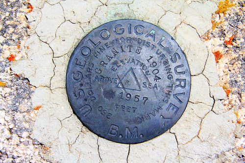 Granite Peak Benchmark.