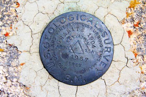 Granite Peak Benchmark.