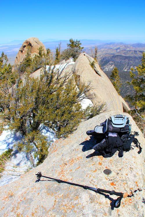 Granite Peak summit.