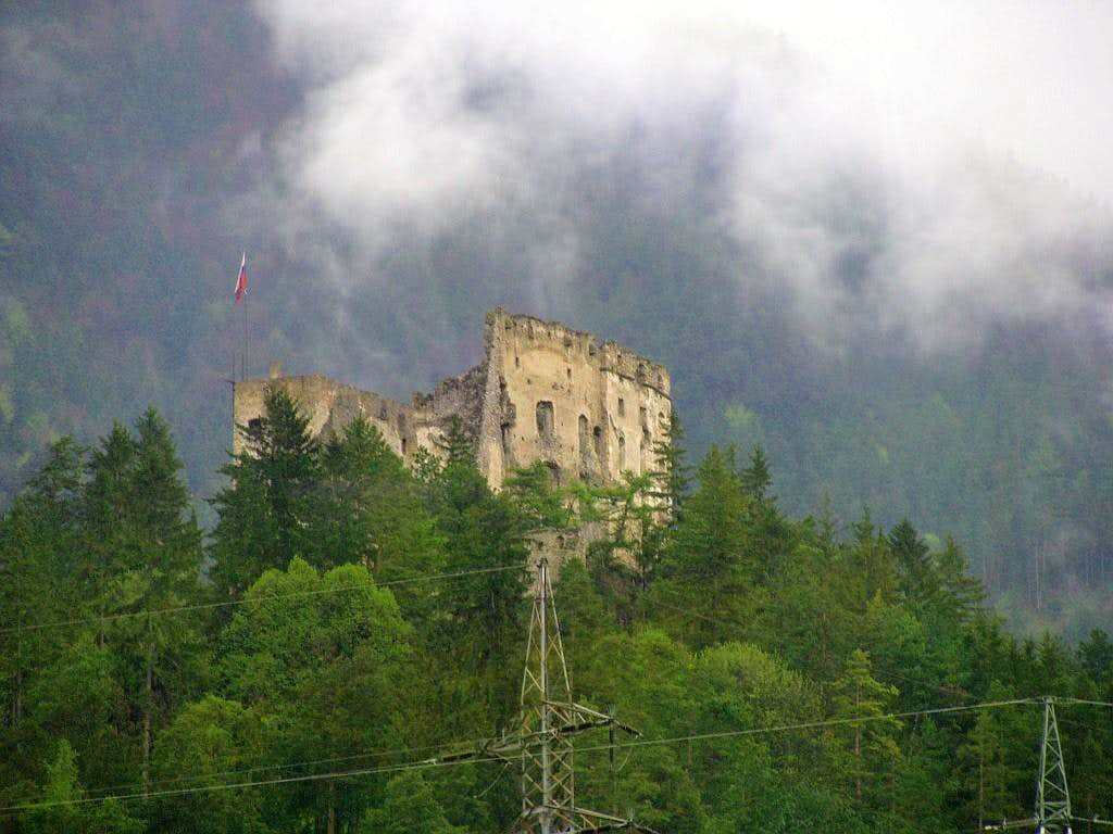 Castle in Chocske Vrchy