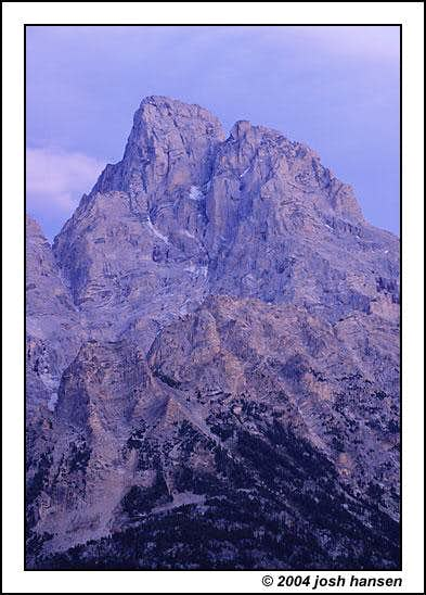 Grand Teton -- Viewed from...