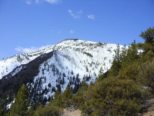 Chocolate Peak in May