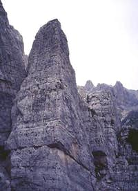 South Face of Torre Bassa.