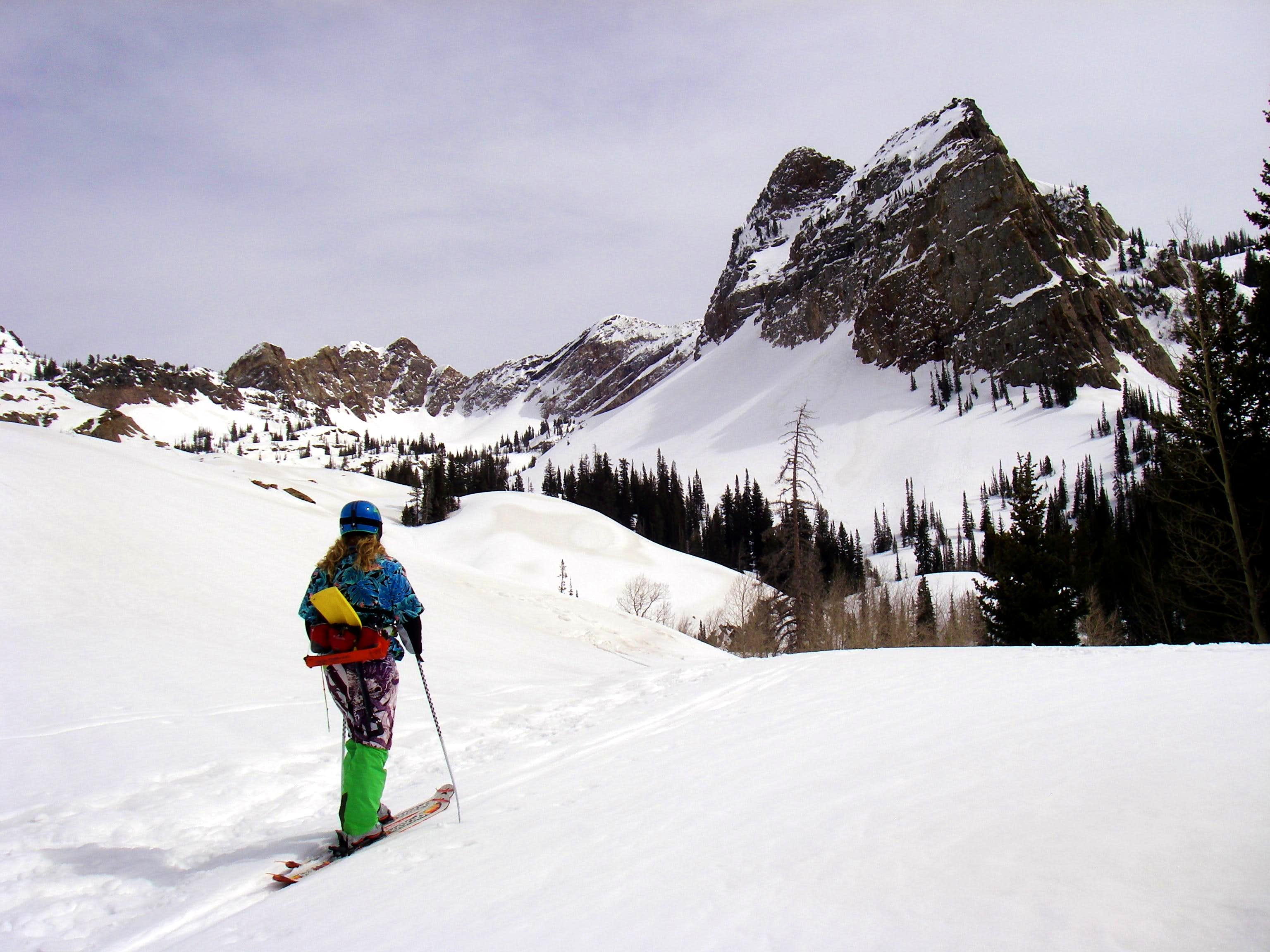 Central Wasatch Backcountry Skiing