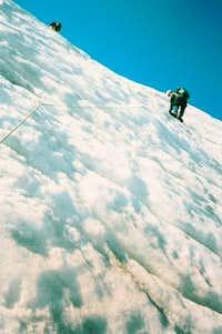 Molar glacier from below....