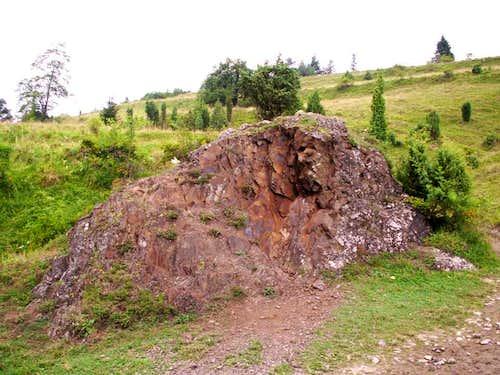 Small basaltic...