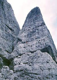 Torre Bassa, South Face