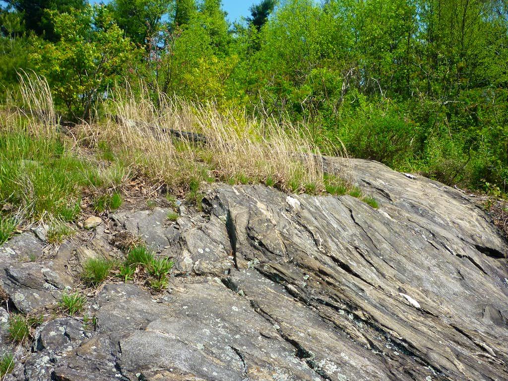 Black Mountain summit rock