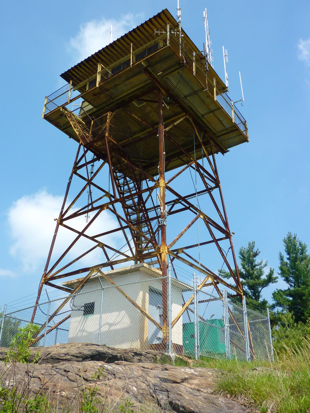 (P) Black Mountain fire tower