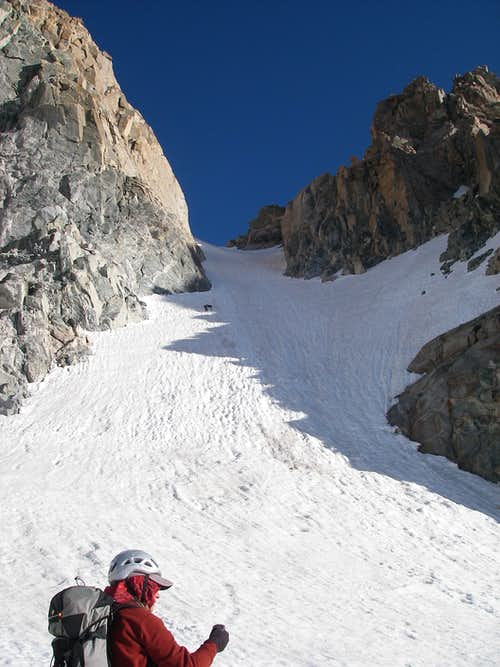 South Couloir, Gannett Peak