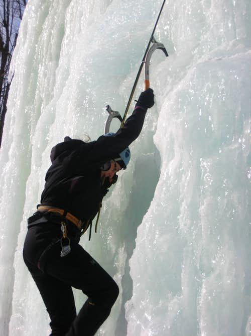 Ice Climbing in the 'Dacks