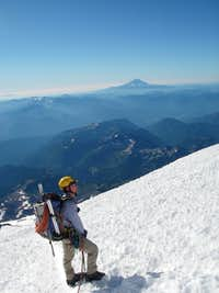 Descending Mt. Rainier
