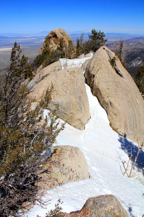 Summit ridge area, Granite Peak.