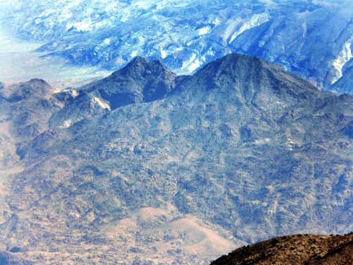 Ubehebe Peak from Cerro Gordo Peak