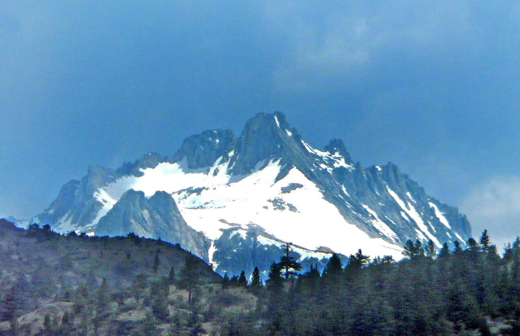 Tower Peak from the northeast