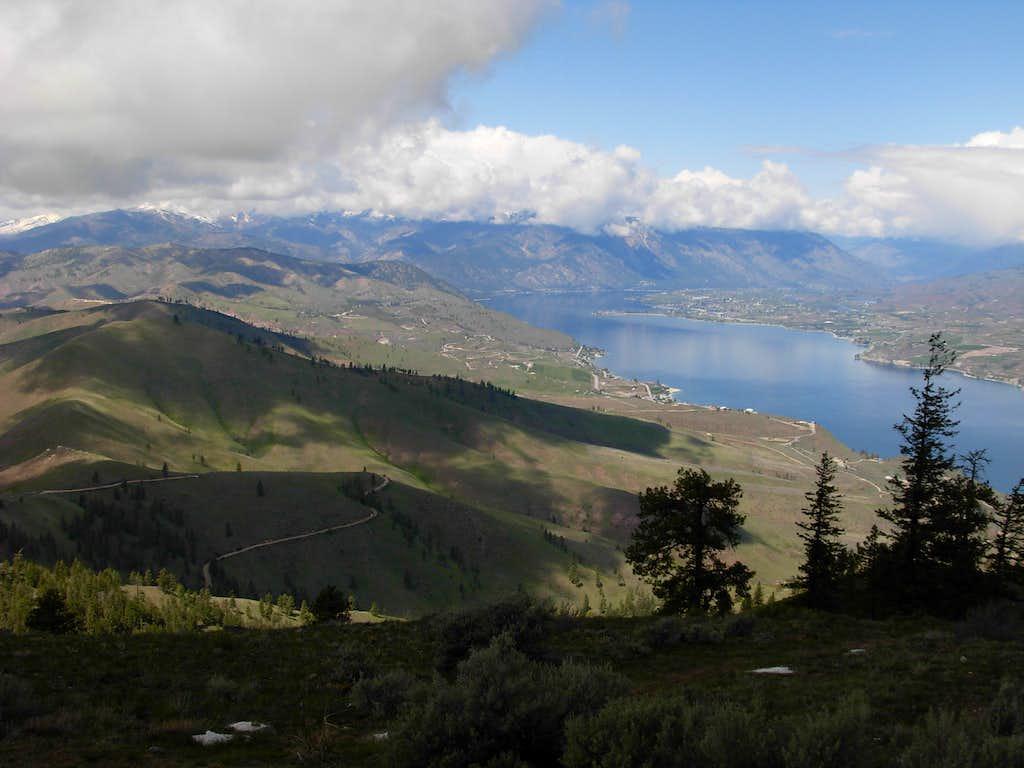 Chelan Butte - Western View