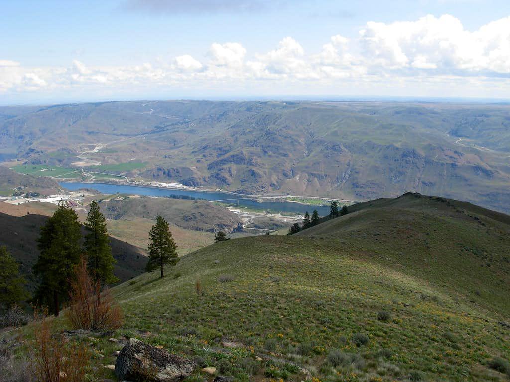 Chelan Butte - Eastern View