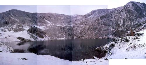 Lac de Bareilles (old-fashioned non-numeric panorama...)
