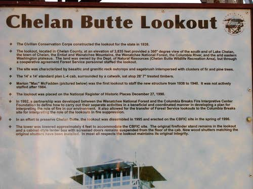 Chelan Butte Lookout