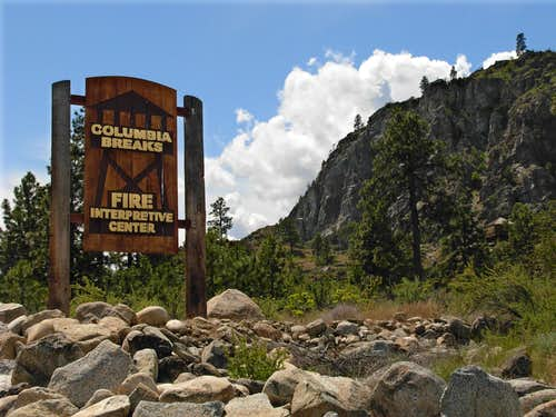 Columbia Breaks Fire Interpretitive Center