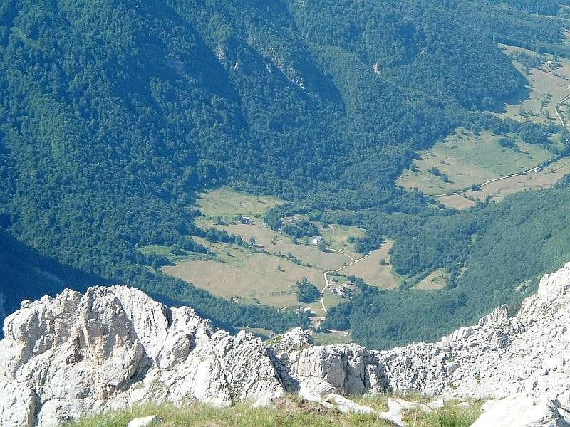 Grbaja valley from Sjeverni Karanfil