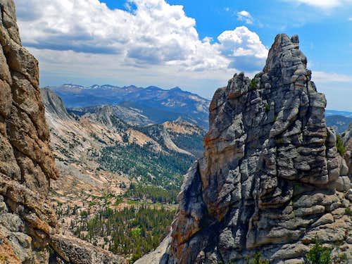 Clark Range from Echo Peaks