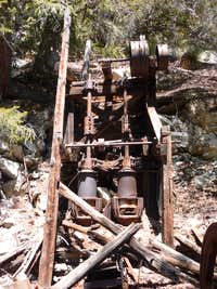 Eagle Mine Upright 2-Stamp Mill
