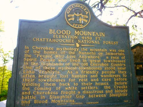 Story of Blood Mountain