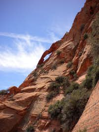 VegeMight Buttress, 5.8 R, 1,100 ft., Red Butte, Zion, UT