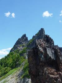 The Castle - SW face. July...