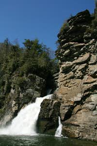 Linville Falls from Plunge Basin