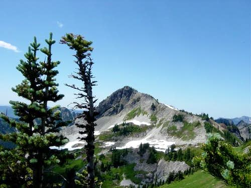 View of Plummer peak during...