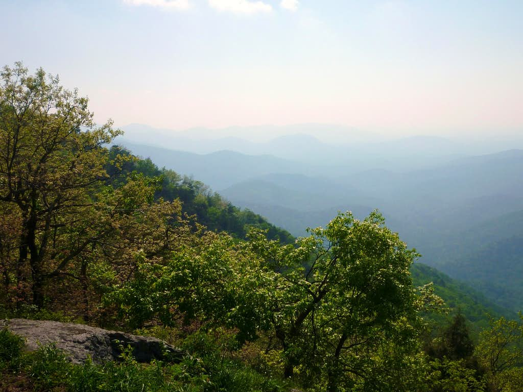 From the southern overlook