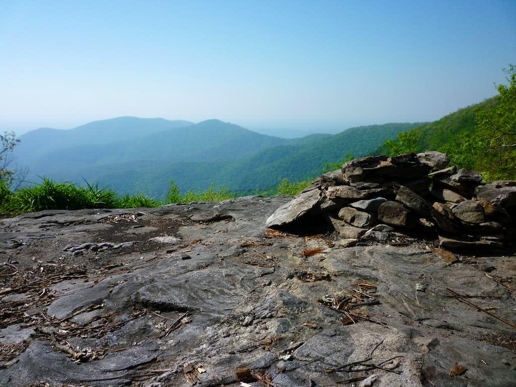 Northern Overlook on Big Cedar Mountain