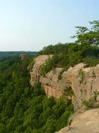 Cliffs in Red River Gorge
