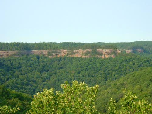 Ridge in Red River Gorge