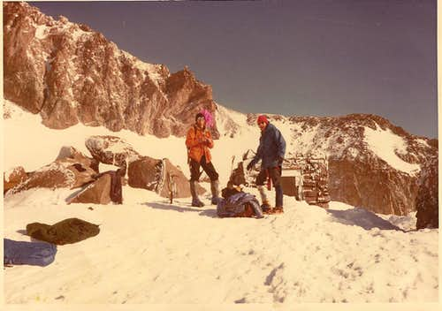 Camp Muir - Mt. Rainier - Mar., 1982