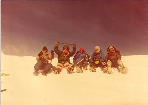 Mount Hood Summit, Mar., 1981