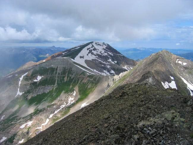 treasure mountain colorado map Treasure Mountain Climbing Hiking Mountaineering Summitpost