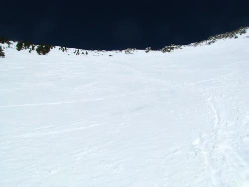 Descent into Snowbowl
